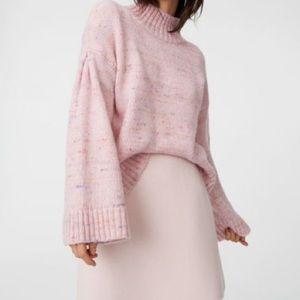 {CLUB MONACO} Pink Confetti Ocalla Sweater L